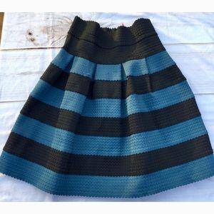 Girls From Savoy Anthro Ponte Bell Skirt XS/S